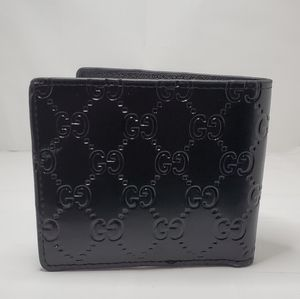 Gucci wallet embossed